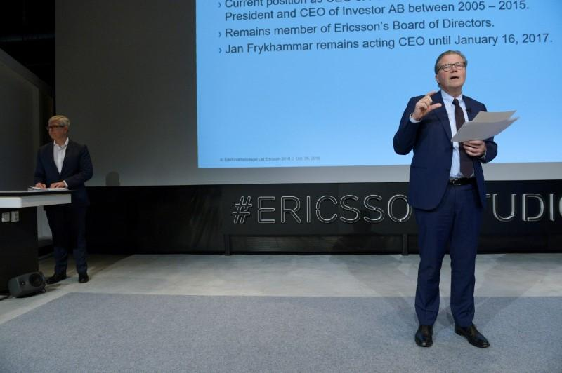 Ericsson chairman says will not stand for re-election