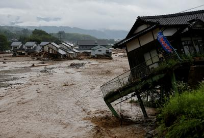 Deadly deluge in Japan