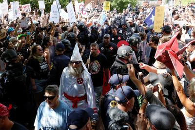 Ku Klux Klan rally in Virginia