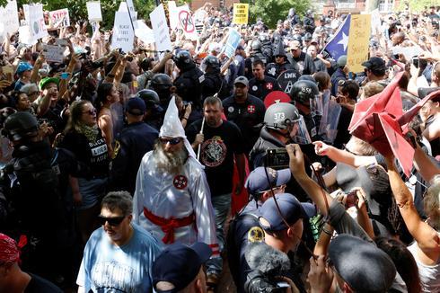 Ku Klux Klan rally in Virginia