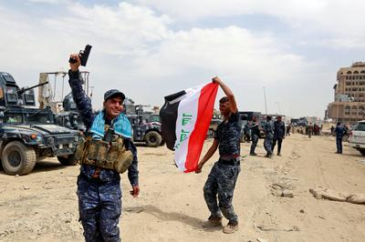 Celebrations in Mosul