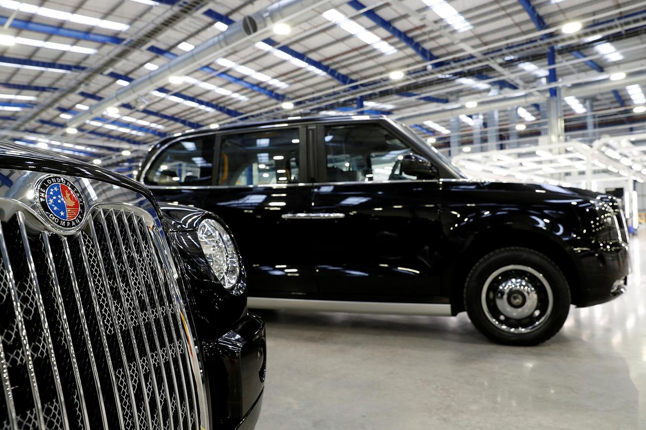 File Photo Taxis Are Displayed At The London Taxi Company S New Plant Near Coventry Britain March 22 2017 Reuters Darren Staples