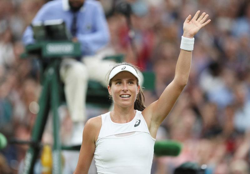 Konta makes history by beating Halep in quarter-final epic
