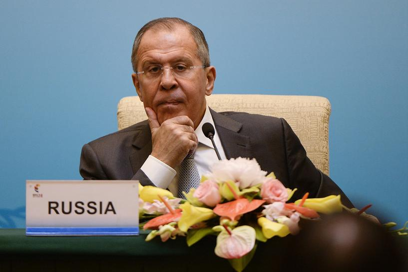 Russia's Lavrov rubbishes claims of Moscow swaying elections