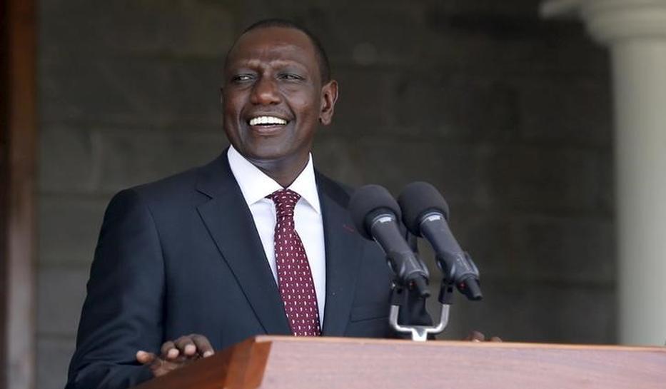Kenyan vice president candidate debates himself after rivals' no-show