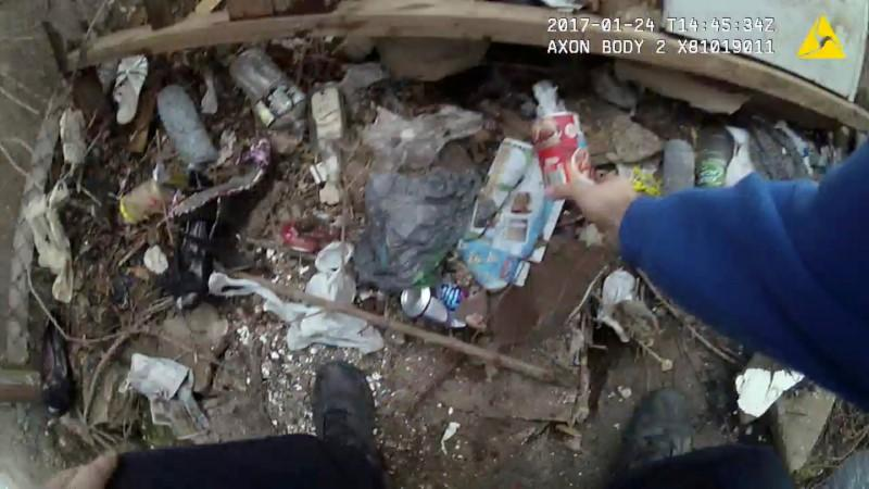 Video appears to show Baltimore police planting drugs