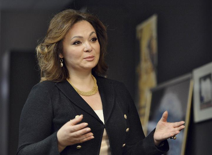 Russian lawyer Veselnitskaya speaks during an interview in Moscow