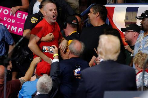 Trump rallies in the Rust Belt