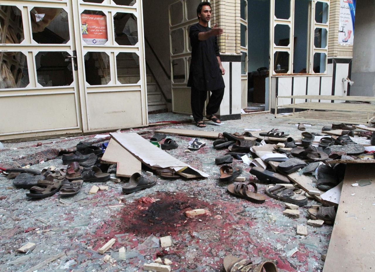 Image result for Afghanistan Mosque Attack kills 29