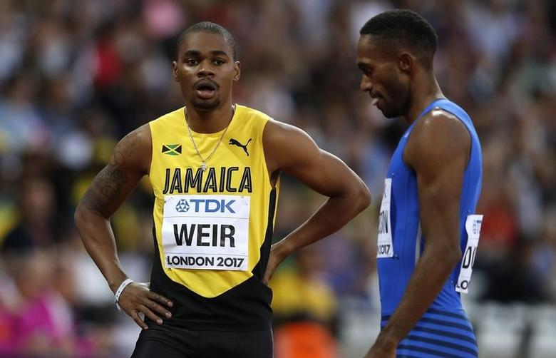 Makwala pulls out of 200 meters, Weir fails to qualify