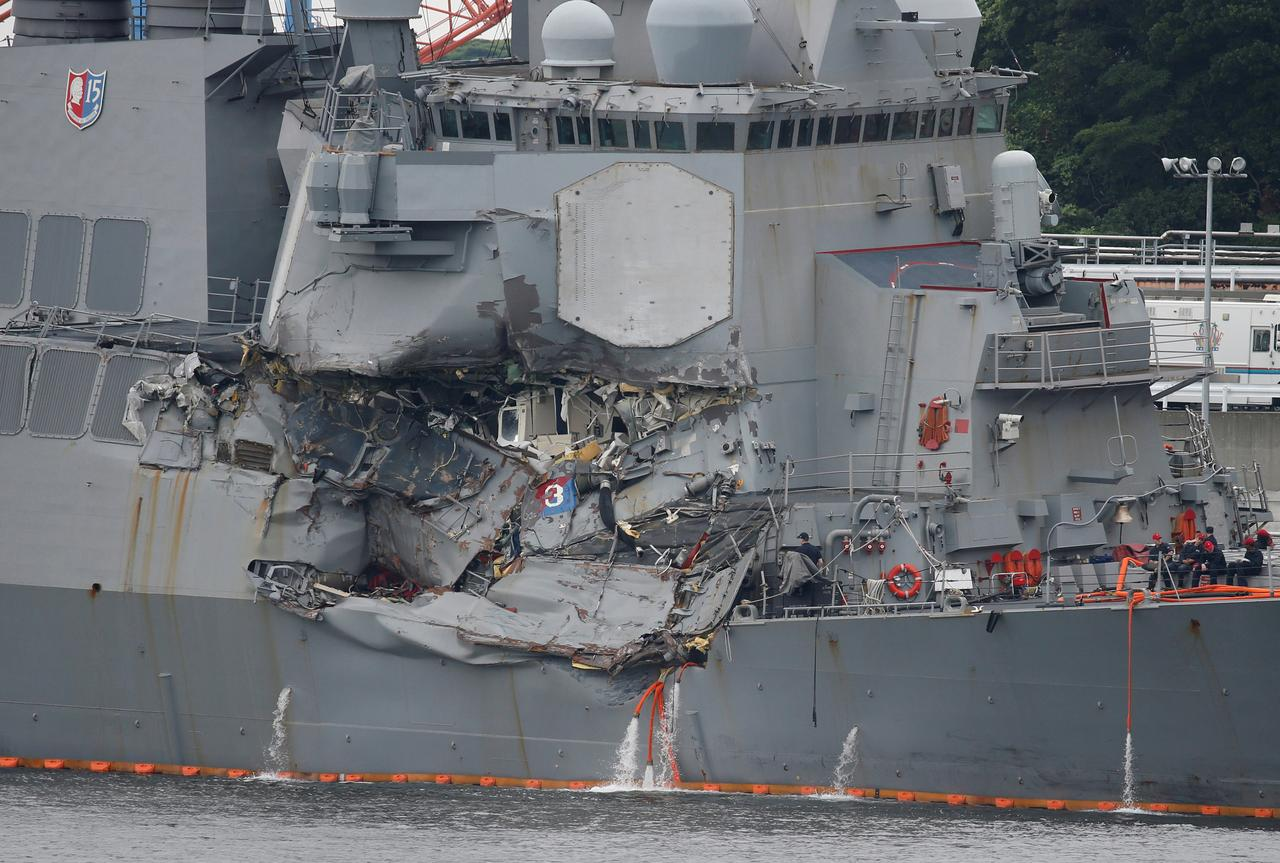 U S  Navy, citing poor seamanship, removes commanders of