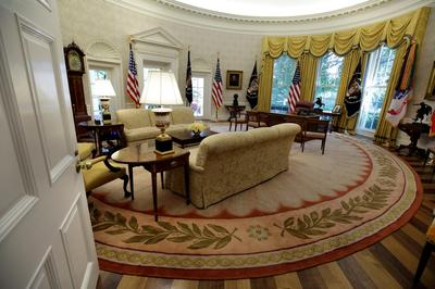White House after renovations