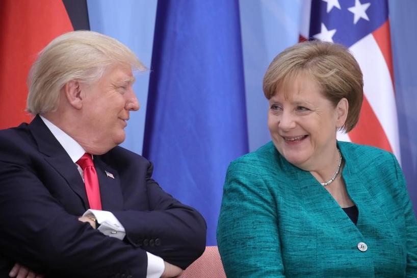 Trump must be respected as U.S. president, says Germany's Merkel