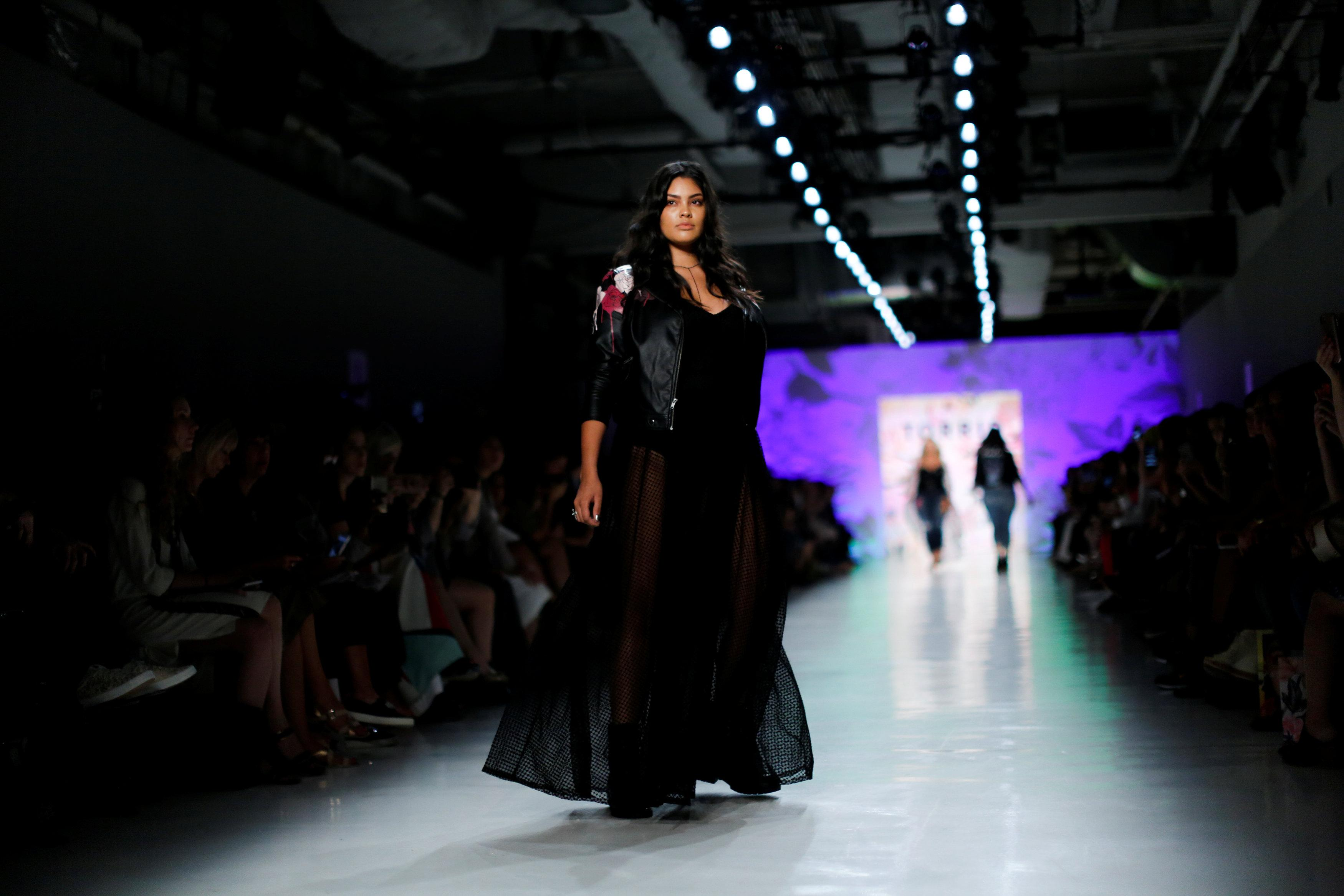 Plus Size Brand Torrid Makes Its New York Fashion Week Debut Reuters