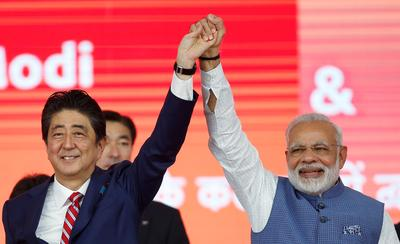 Shinzo Abe visits India