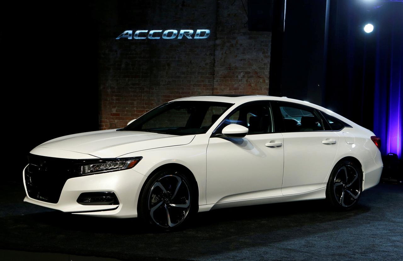 FILE PHOTO American Honda Motor Introduces The 2018 Accord At Garden Theater In Detroit Michigan US July 14 2017 REUTERS Rebecca Cook File