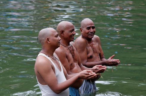Mahalaya in India