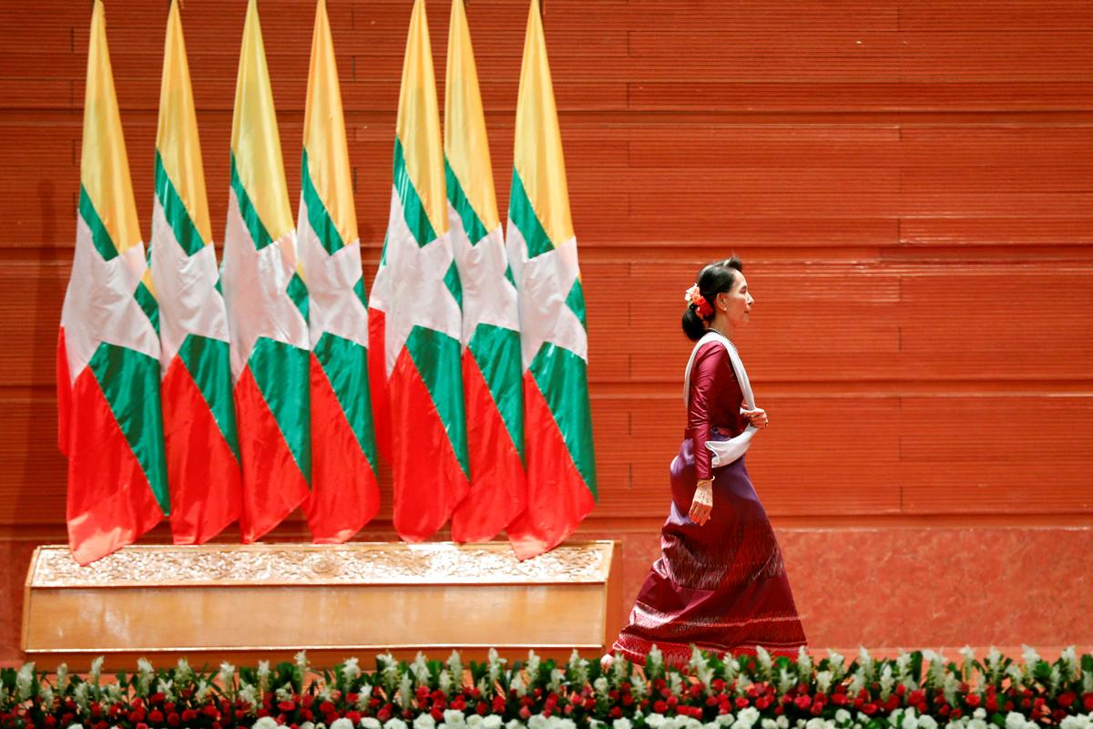 Suu Kyi silence on Myanmar ethnic cleansing charge draws cool response