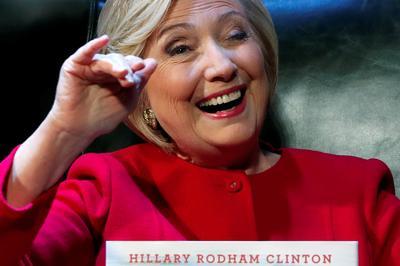 Hillary Clinton's book tour