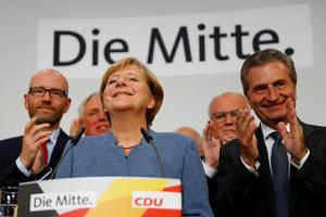 Merkel wins German election