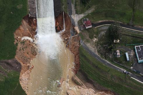 Puerto Rico dam on verge of collapse