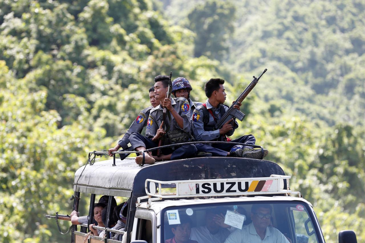 Myanmar army Facebook posts covering key period of offensive