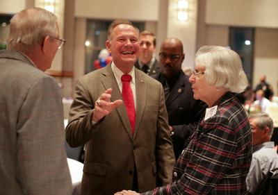 Roy Moore wins Alabama primary
