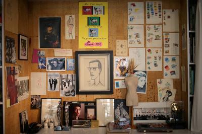 Yves Saint Laurent's atelier opens as museum