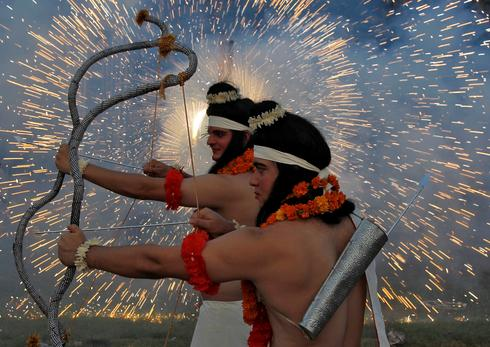Dussehra celebrations in India