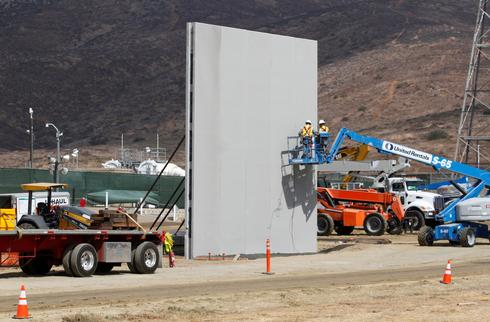 Testing Trump's border wall