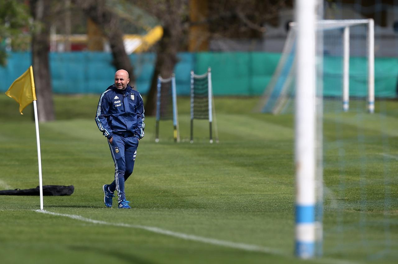 Jorge Sampaoli Training