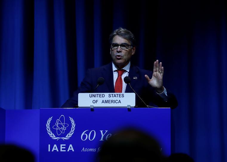 Congressman seeks probe of chartered flights by U.S. energy secretary