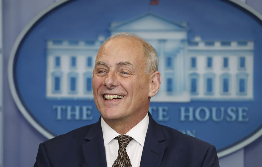 White House chief of staff says he is not so frustrated he wants to leave