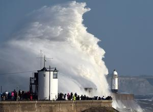 Storm Ophelia batters Ireland and UK