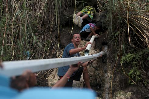 The search for water in Puerto Rico