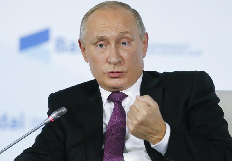 Путин считает, что американская забастовка по Северной Корее разрушит арсенал