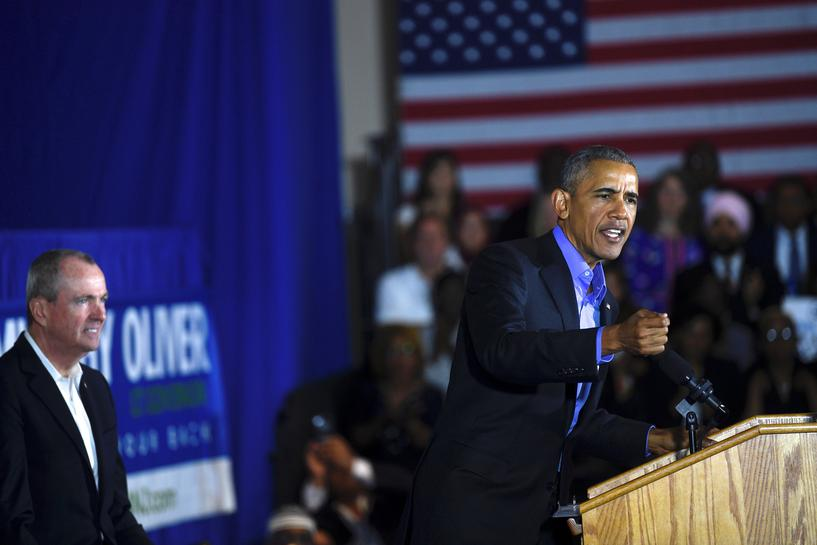 Obama Urges New Jersey Voters To Reject 39 Politics Of