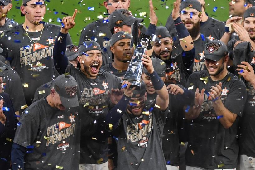 Baseball: Astros reach World Series after Game 7 win over Yankees