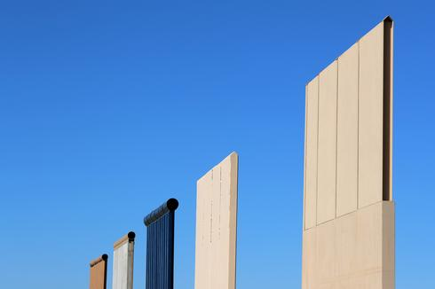 Testing Trump's border wall