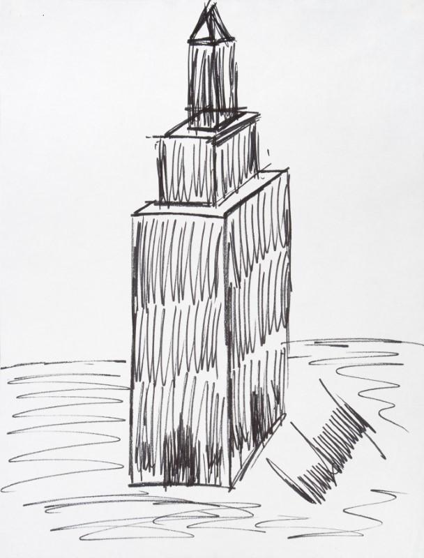 Subastan por 16.000 dólares un dibujo del edificio Empire State ...