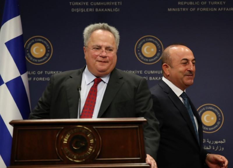 Turkey says doesn't want Greece to become 'safe haven' for