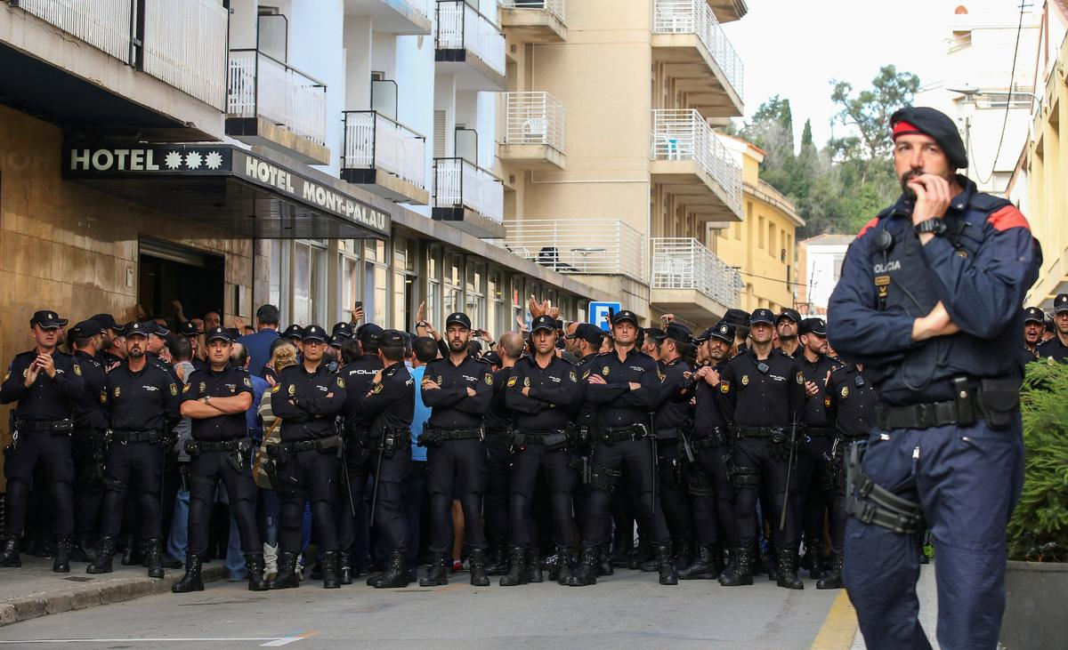 Demoralized and divided: inside Catalonia's police force