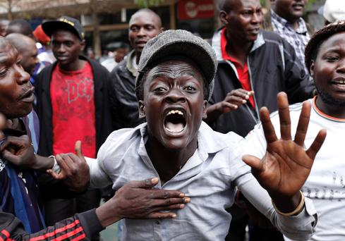 Protests over Kenya's cancelled election