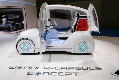 Future of driving at Tokyo Motor Show