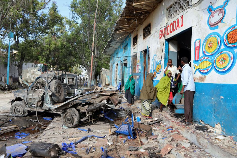 Image result for 29 Dead After Islamist Attack On Somali Hotel