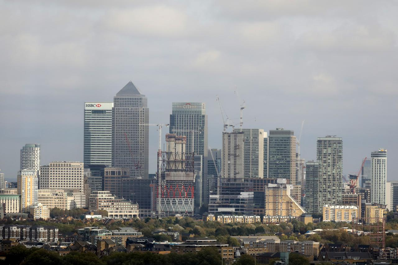 Wary of central banks, share prices, UK funds ease off on equities