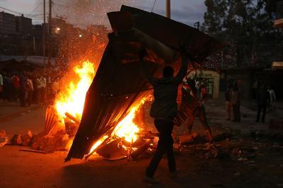 Kenyan opposition calls for calm