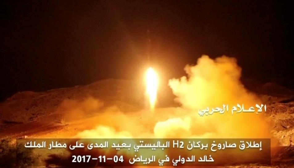 Saudi-led coalition calls missile 'dangerous escalation' of Yemen conflict