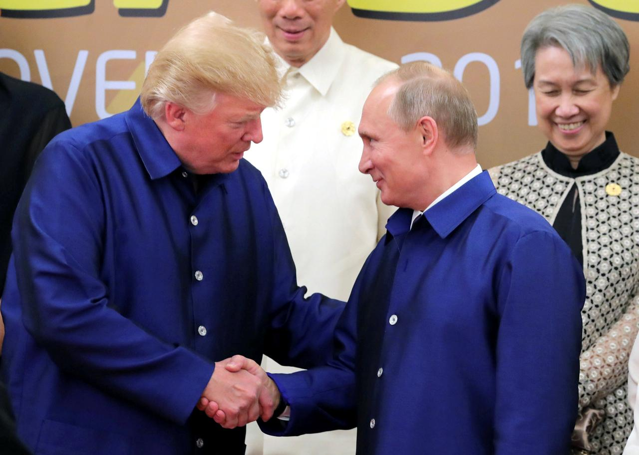 Image result for trump and putin hug