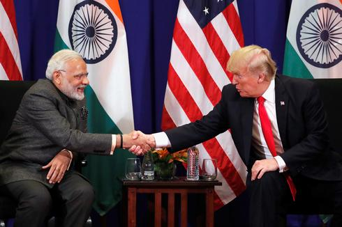 Modi meets Trump at ASEAN Summit